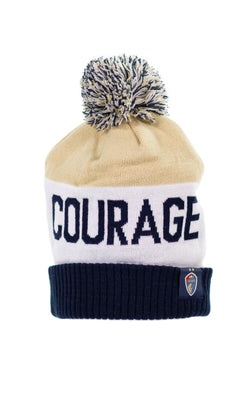NC Courage Two Star Winter Hat