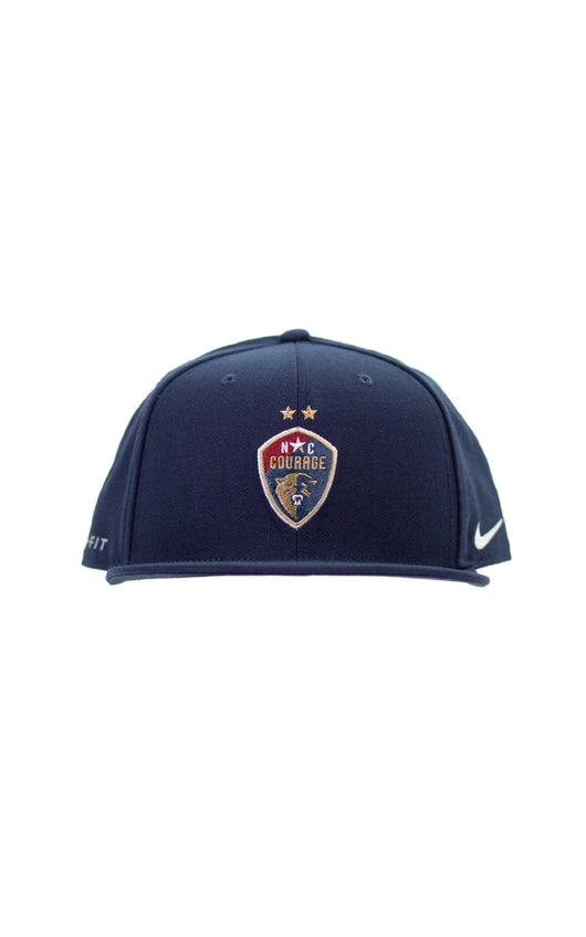 NC Courage Two Star Navy Snapback