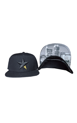 Black Skyline Hat