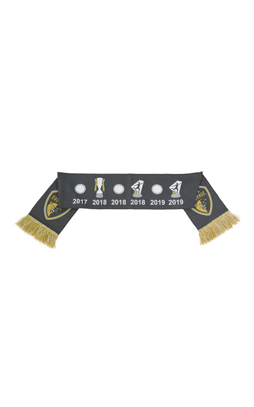 NWSL Champions Two Star Trophies Scarf