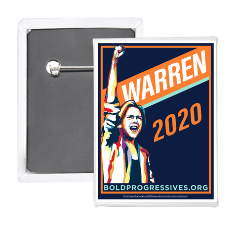 Elizabeth Warren 2020 Button