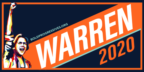 Elizabeth Warren 2020 Sticker