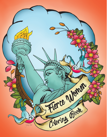 Fierce Women Coloring Book