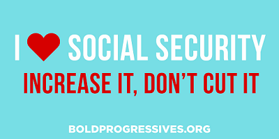 """I ❤ Social Security -- Increase It, Don't Cut It"" sticker"
