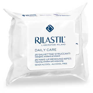 Rilastil Daily Care Make-up Removing Wipes 25 Ct