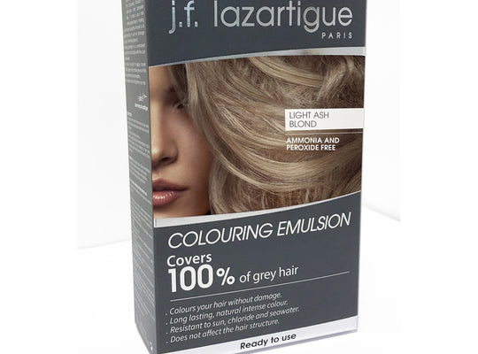 Light Ash Blond Coloring Emulsion