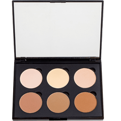 6 Well Highlight & Contour Powder Palette