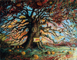 The Halloween Tree by American Artist John Randall York