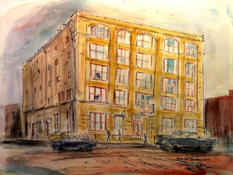 Moore Store, Original Watercolor