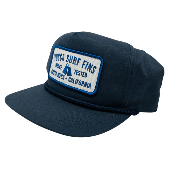 Yucca Fins Snap-Back - Wedge Tested Blue Patch