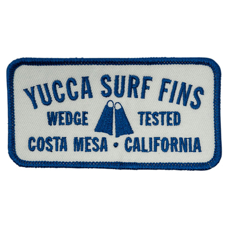 Yucca Blue Wedge Tested Patch