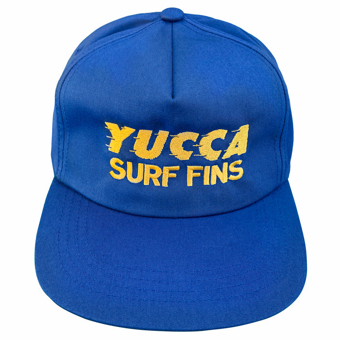 Yucca Fins Built For Speed Snapback Navy