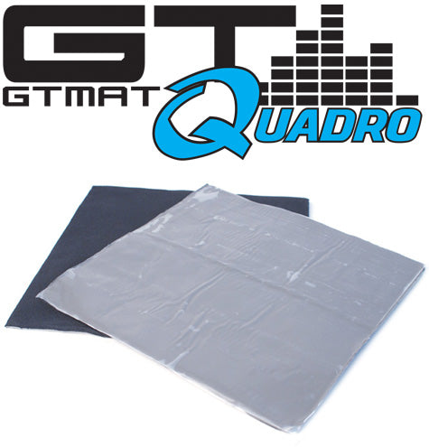 GTmat Quadro 4-Layer Butyl Foam