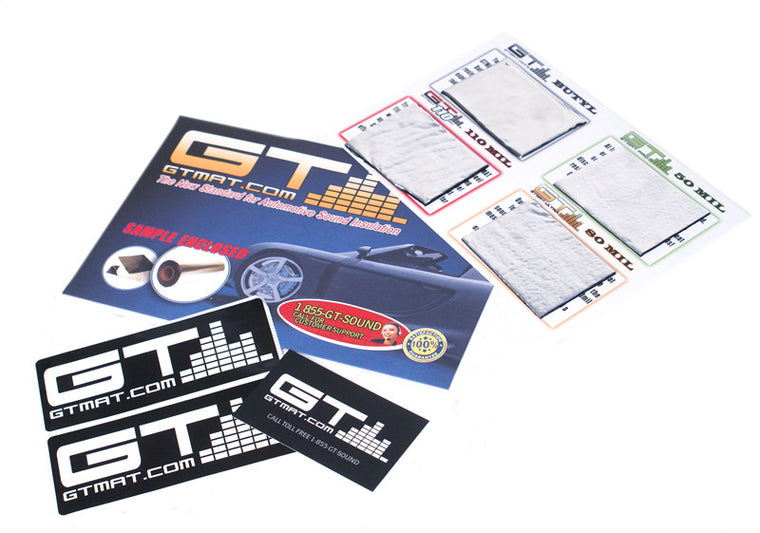 GTMAT Sample Pack of GTMAT Pro 50mil, GTMAT Ultra 80mil, GTMAT Supreme 110mil and GTMAT Onyx