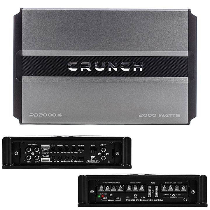 Crunch Power Drive 4-channel 2000w Amplifier