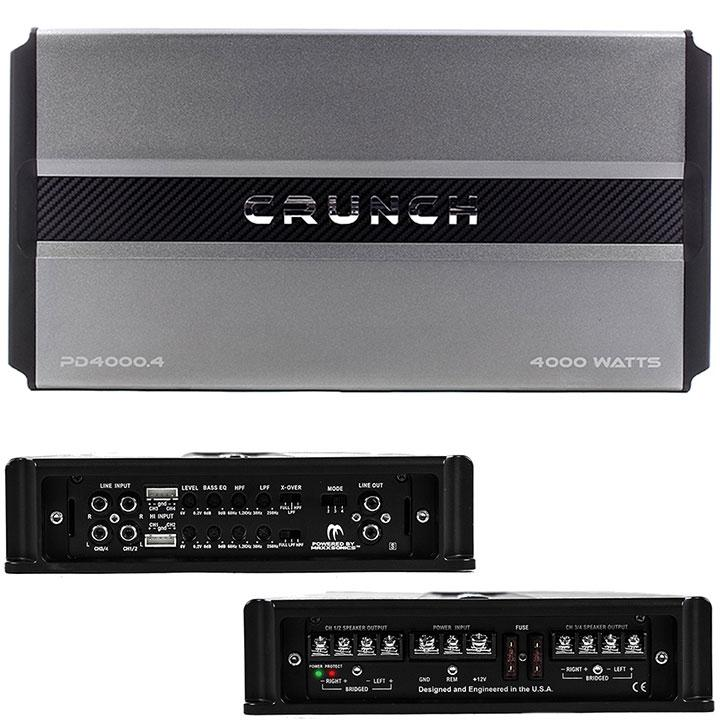 Crunch Power Drive Pro Power 4-channel 4000w Amplifier