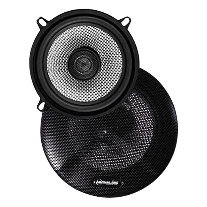 "Speaker 5.25"" 2-way(pair) 120watts *sq5.2* American Bass;carbon Fiber"