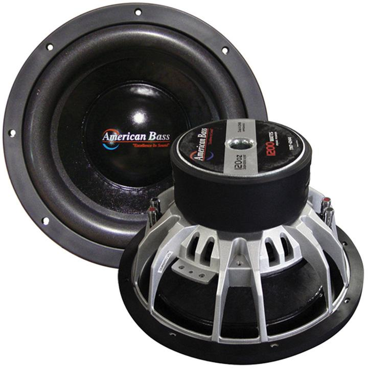 "American Bass 12"" Woofer 1200 Watts Max 4 Ohm Dvc"