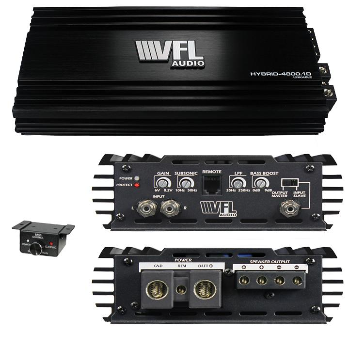 Vfl Audio Hybrid D Class Amplifier 4800 Watts Max