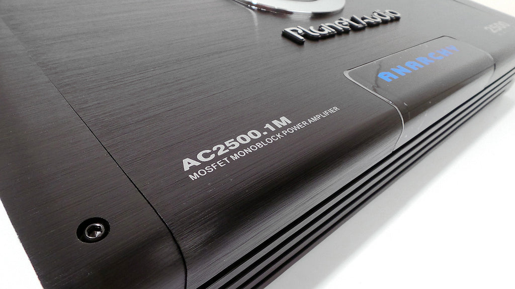 Planet Audio Anarchy 2500 Watt Mono Car Audio Amplifier AC2500.1M