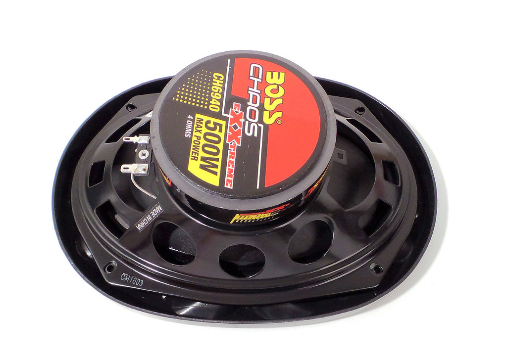 "BOSS Chaos Exxtreme 6""x9"" 4-Way 500W Full Range Speaker Pair CH6940"