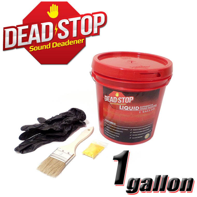 1 Gallon Dead Stop Liquid Vibration Damping Sound Deadener