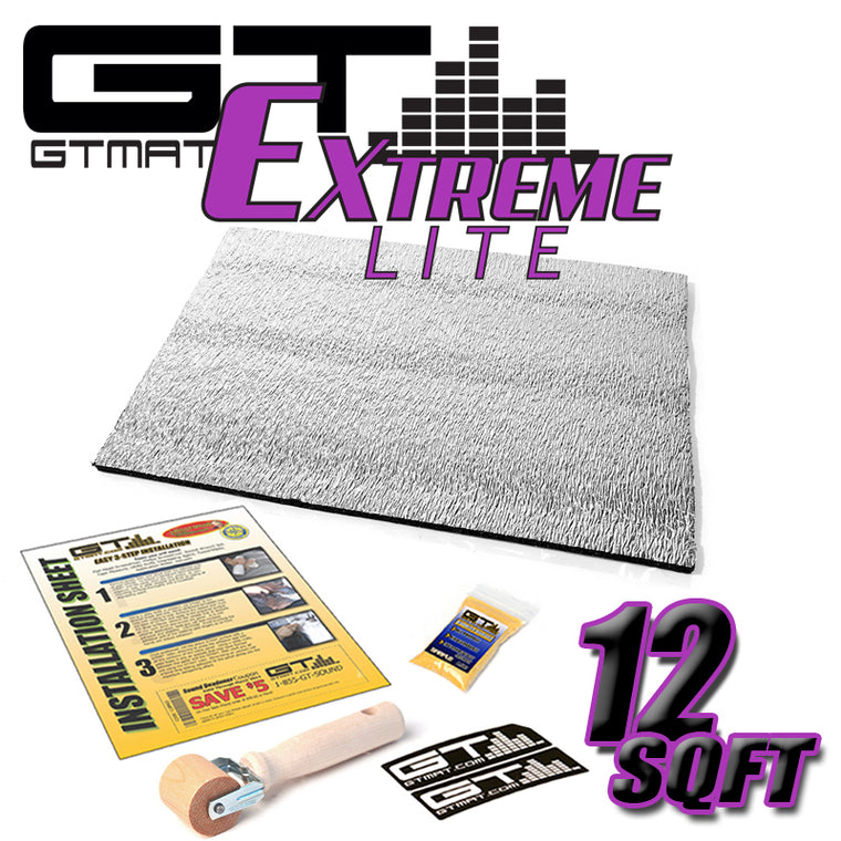 12 SQ FT GTMAT Extreme Lite Car Sound Deadener