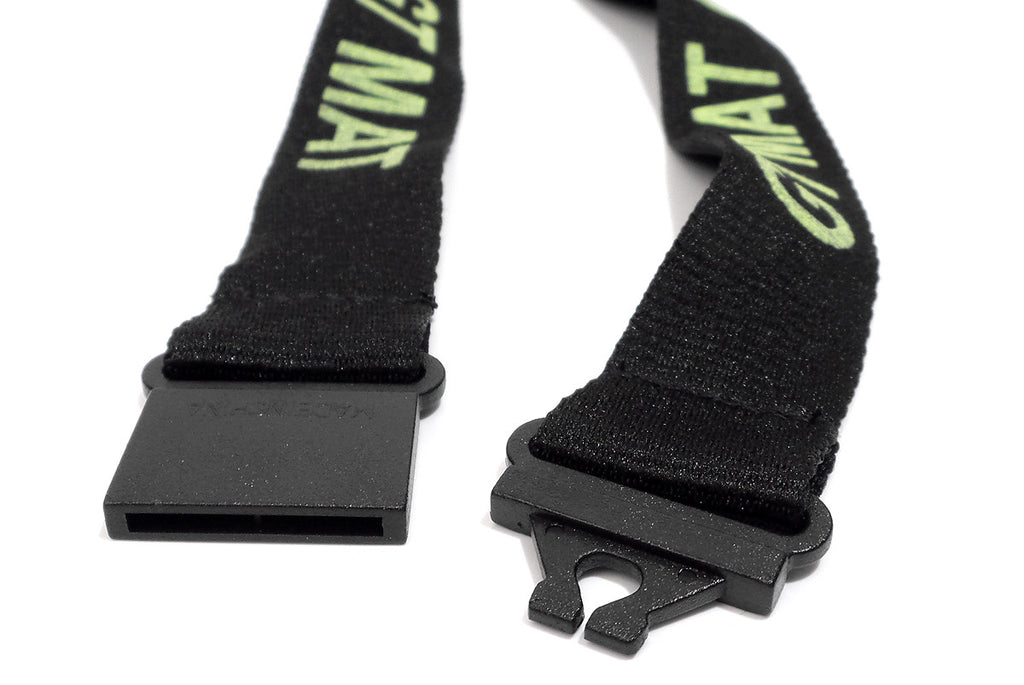 GTMAT Black and Green Detachable Lanyard