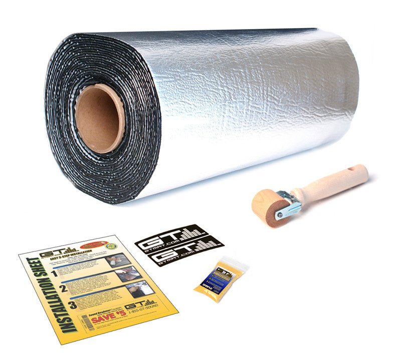 12 SQ FT GTmat Pro 50mil Car Audio Sound Deadener
