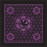 Honest Herbal Purple Bandana