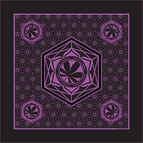 Honest Herbal Bandana - Purple - Honest Herbal