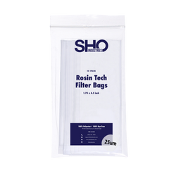 SHO Industries - Seamless Rosin Tech Filter Bags - 1.75 in x 4.5 in - 10 pack