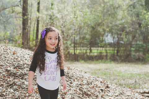 Curly Hair Dont Care Shirt, Curly girl shirt