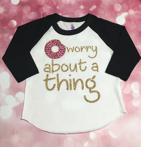 Girls Donut Shirt, Donut Party Shirt