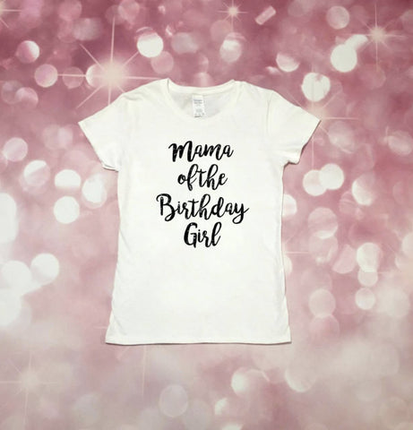 Birthday Party Shirt, Girls Birthday Party, Mama of the Birthday Girl, Kid Birthday Party, Birthday Shirt, Womens Birthday Shirt, Cake Smash