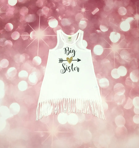 Big Sister Dress, Baby Announcement Dress, New Big Sister, Sibiling Outfit, Family Picture Outfit, Baby Girl, Toddler Girl