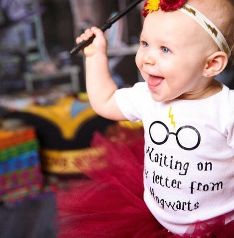 Harry Potter, Harry Potter Baby, Harry Potter Bodysuit, Waiting On My Letter From Hogwarts, Harry Potter Gift, Baby Girl, Hogwarts, Muggle