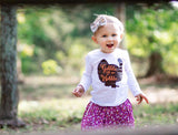 Thanksgiving Shirt, Turkey shirt, Thanksgiving outfit, Baby girl Thanksgiving outfit, Girls turkey shirt, Girls thanksgiving shirt
