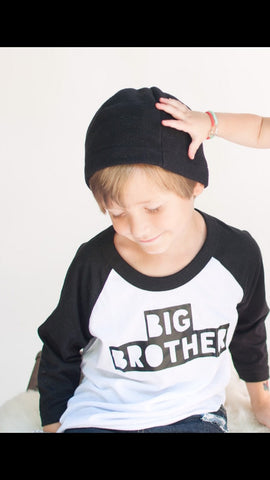 Big Brother Shirt, Big Brother Little Brother, baby announcment shirt