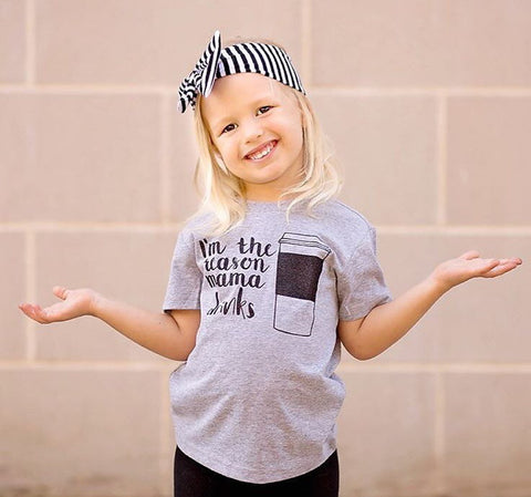 Girls Coffee Shirt, Momlife, Baby Girl, Toddler Girl,  Mama's Girl, Funny Girl Shirt, Coffee, Tee Shirt