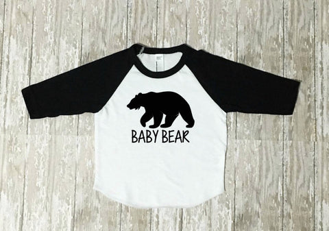 Baby Bear Shirt, toddler mothers day shirt