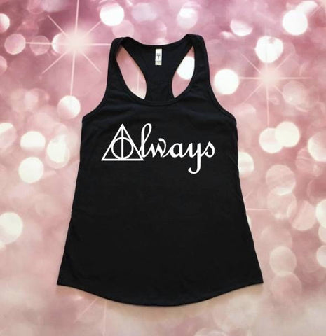 Harry Potter Tank, Harry Potter, Severus Snape, Slytherin Shirt, Snape Always, HP Tank, Harry Potter Gift, After All This Time Always