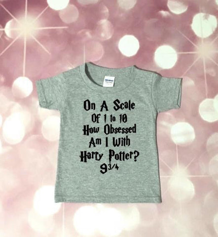 Harry Potter Shirt -  Harry Potter Baby - Harry Potter Toddler - Harry Potter Tee - Muggle Tee - Harry Potter Obsessed - Hogwarts