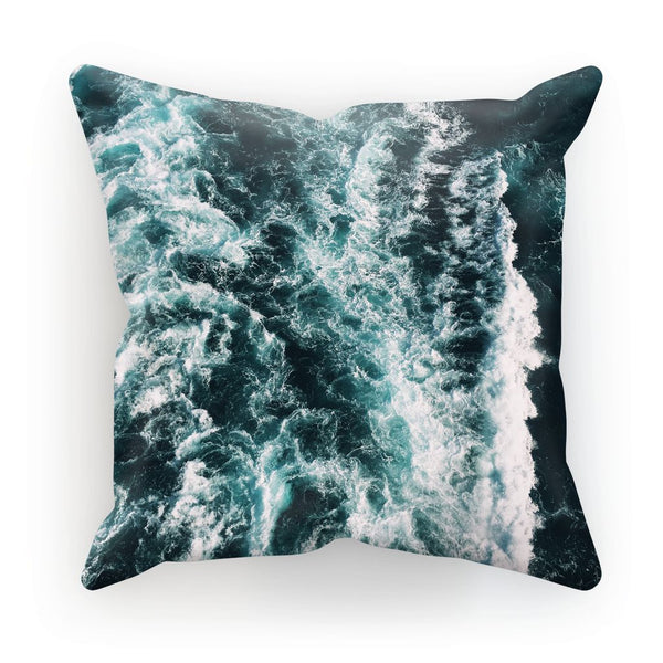 Ocean Waves  Cushion - LuluBee+Kewi