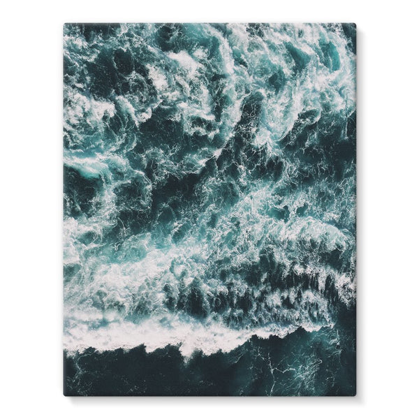 Ocean Waves  Stretched Eco-Canvas - LuluBee+Kewi