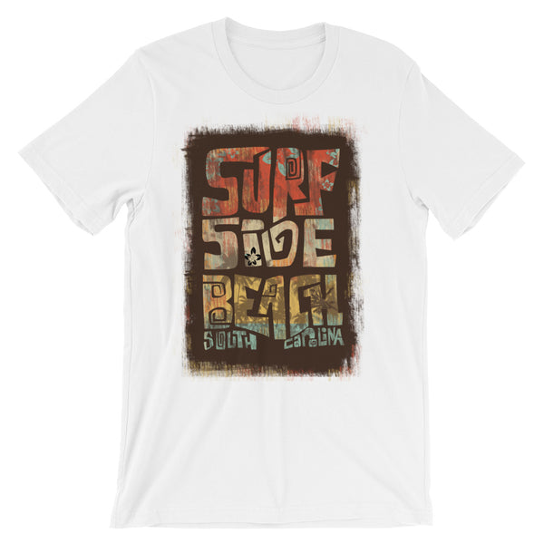 Surfside Beach South Carolina Unisex short sleeve t-shirt - LuluBee+Kewi