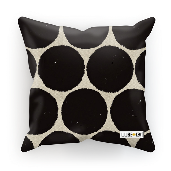 Spotted Canvas by Catherine Cortes Cushion - LuluBee+Kewi