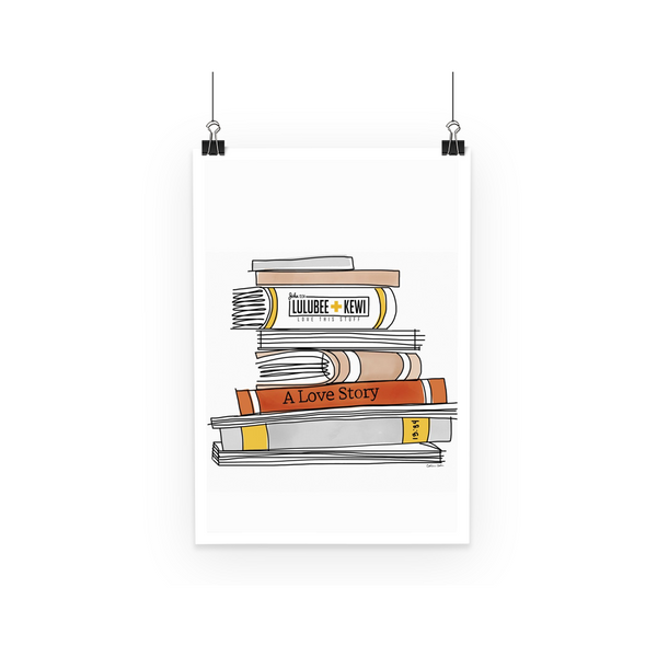 Books by Catherine Cortes Poster - LuluBee+Kewi