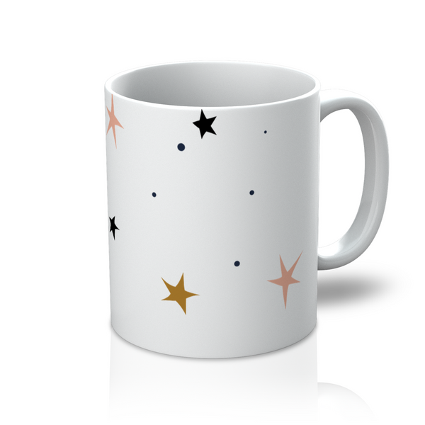 Coffee + Tea, Star Light Star Bright 11 oz Mug - LuluBee+Kewi