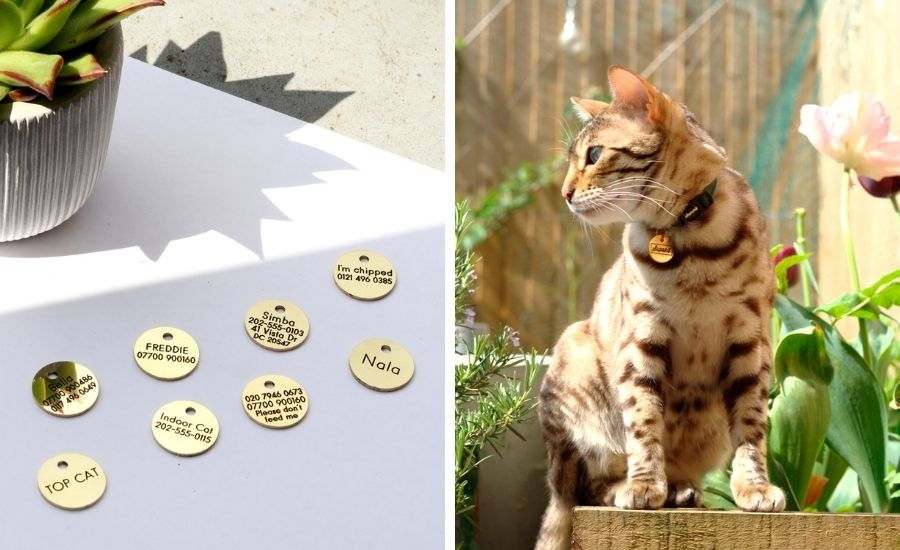 Good quality ID tags for cats